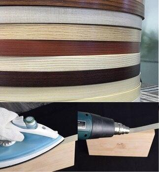 50Meters/Lot 20mm Wide PVC Edge Banding Preglued Pre-glued hot melt adhesive