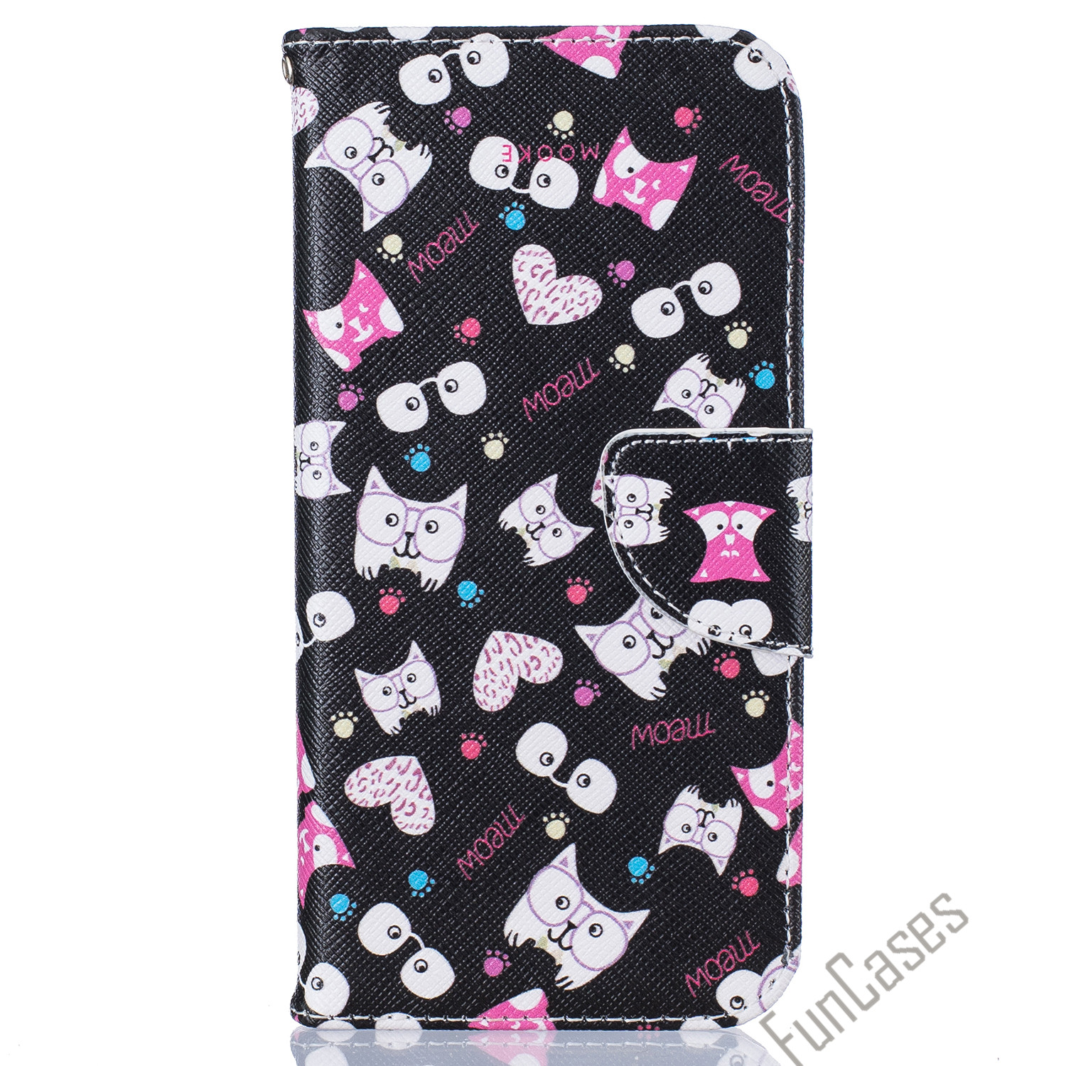 New Art Print Fashion For Samsung Galaxy S7 edge Cases Wallet Flip Cover PU Leather Card Slot Photo Frame Cover Bag Stand Capa