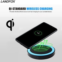Hot Sale Qi Wireless Power Charger Charging Pad Wireless Charger For IPhone X 8 Plus For