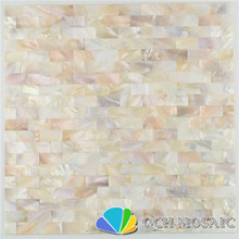 Freshwater shell mother of pearl mosaic tile for house decoration wall tile natural color 11 square feet/lot strip pattern qch20 shell mosaic mother of pearl natural colorful kitchen backsplash tile bathroom background shower decor luster wall tile lsbk1005