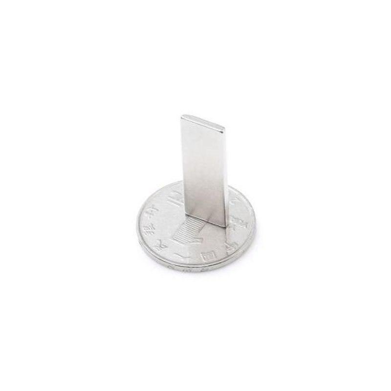 Suleve 20 шт. N38 30 х 10 х 2 мм магнит игрушки мощный Творческий NdFeB Cube для малыша взрослых DIY 70 г