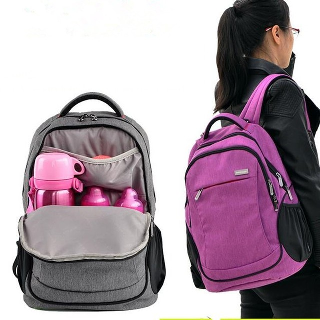Updated New Style Large multifunctional mummy backpack nappy bag baby diaper bags mommy maternity bag babies care product 2016