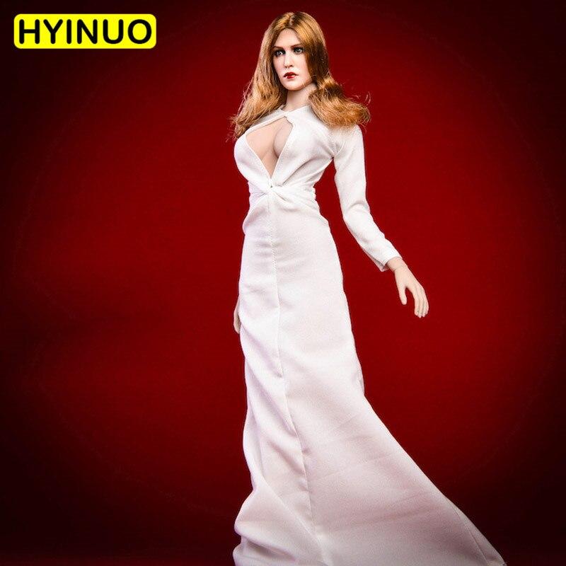 """1/6 Skala 18xg31 Elizabeth Olsen Königin Sexy Abendkleid Frauen Abendessen Anzug Kleidung Kleidung Set For12 """"action Figur Weibliche Körper"""