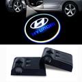 LED Car Logo Laser Projector Light for Hyundai Accent IX35 Solaris Elantra I30 Santa fe Getz Tiburon Atos Tucson I20 I30 I35 I40
