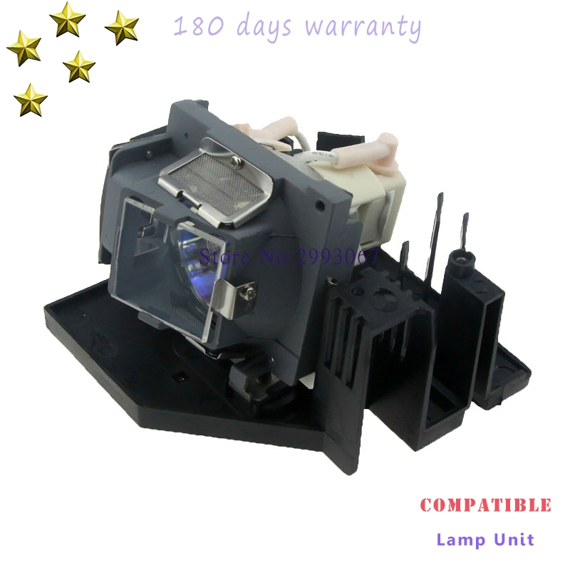 High quality CS.5J0DJ.001 Replacement Projector Bare Lamp with housing For BenQ SP820  with 180 days warranty cs 5jj1b 1b1 replacement projector lamp with housing for benq mp610 mp610 b5a