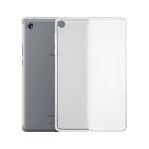 Ультра тонкие прозрачные чехлы для Huawei MediaPad M5 8 8,4 дюймов, чехлы, тонкая Противоударная задняя крышка, оболочка