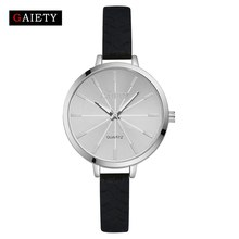 Women Watch 2017 New Fashion Ladies Bracelet Silicone Watches GAIETY Brand Casual Dress Quartz-Watch Clock Sport Wristwatch