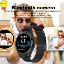 newFashion fo IOS Android  Bluetooth Smart Watch MTK2502C answer call heart rate sleep monitor 1.3 inch HD TFT Screen SmartWatch 2018 new s9 nfc mtk2502c smartwatch heart rate monitor bluetooth 4 0 smart watch bracelet wearable devices for ios android
