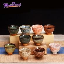 6 шт./партия, китайская керамическая чайная чашка, ледяная треснутая чашка для глазури чайный набор кунг-фу, маленькая фарфоровая чайная чаша, чайная чашка, аксессуары для чая, посуда для напитков