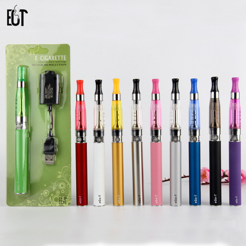 EGO T Ce5 Blister Atomizer Vape E Liquid Electronic Cigarette Kit E-cigarettes Hookah 1.6ml Electronic Cigarette usb charger