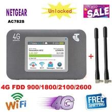 Разблокирована Netgear AirCard 782S AC782S lte 4g беспроводной маршрутизатор 4g wifi ключ мобильный wifi mifi точка доступа Карманный pk 760s 762s 790s