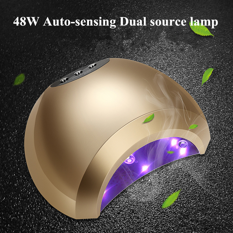 New Multi-color Nail Dryer Lamp nail gel Lamp for nail salon nail designs Art Tools dry quickly 48w UV Led lamp dryer lamps