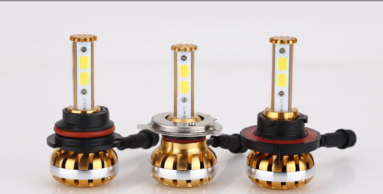 1Set DC8V-32V 60W 12000LM COB Chips Car LED Headlight kit H4 Hi Lo HB2 H4-3 P43T Lamp DRL Bulbs Canbus Car Lights 6000K 1 pair dc 9 36v h4 cob 80w led car headlight kit hi lo beam bulbs 6000k