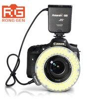 Thương hiệu ban đầu aputure ahl-hn100 cri 95 + led macro ring flash light cho nikon dslr máy ảnh dropshipping