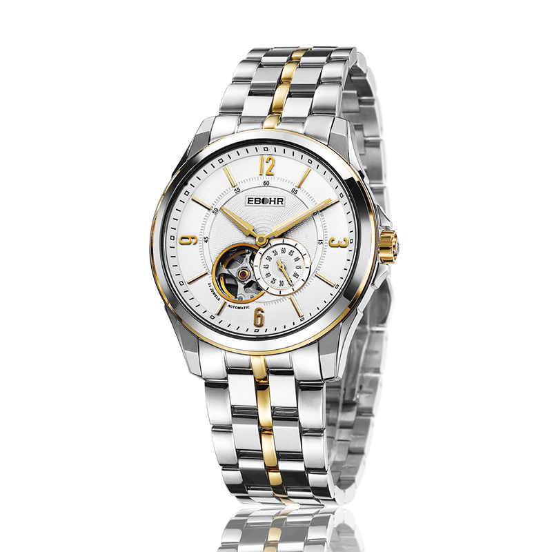 EBOHR brand luxury machinery successful mens Mechanical watch waterproof business casual fashion watch 2019 new Ebohr 10720219EBOHR brand luxury machinery successful mens Mechanical watch waterproof business casual fashion watch 2019 new Ebohr 10720219