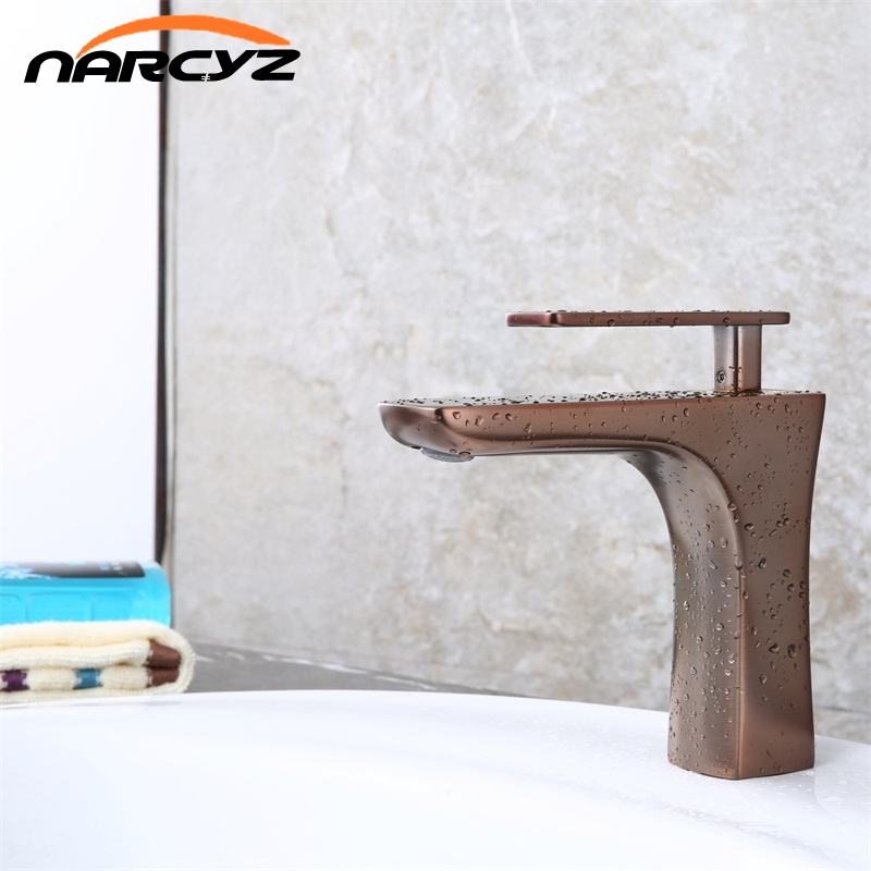 Luxury Bathroom Faucet Oil Rubber Brown Bathroom Faucet Brown Color Basin Sink Faucet Copper Mixer XT-408Luxury Bathroom Faucet Oil Rubber Brown Bathroom Faucet Brown Color Basin Sink Faucet Copper Mixer XT-408