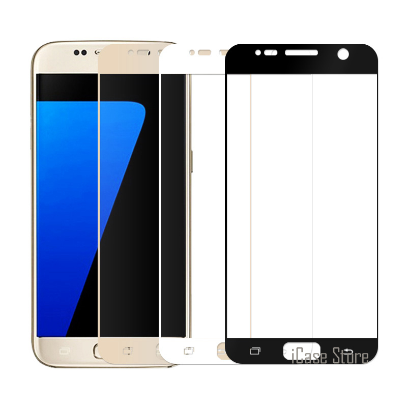 Full Cover Tempered Glass For Samsung Galaxy J5 <font><b>J7</b></font> Prime S6 S7 Note 3 4 5 A5 A7 2016 A3 A5 <font><b>2017</b></font> Screen Protectors Film image