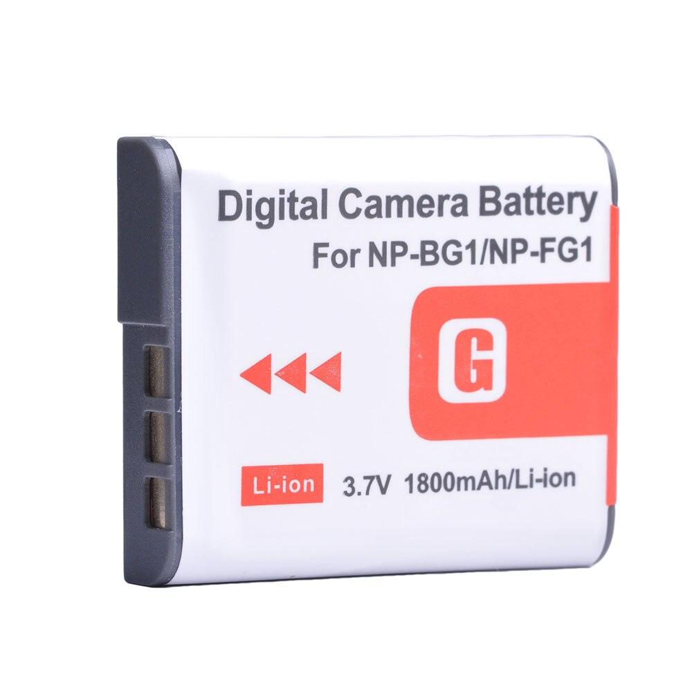 2x Batería F Sony np-bg1 dsc-w40 w50 w55 w70 w80 w85 1 npbg