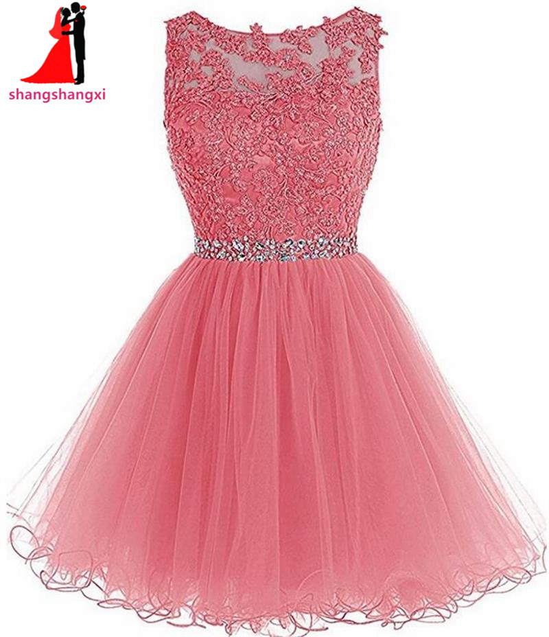 Short Prom Dress Homecoming Dresses For Girls 2018 Cheap Plus Size ...