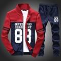 TG6134 Дешевые оптовые 2016 новый флис молодежи случайный костюм студенты хан издание бейсбол одежда