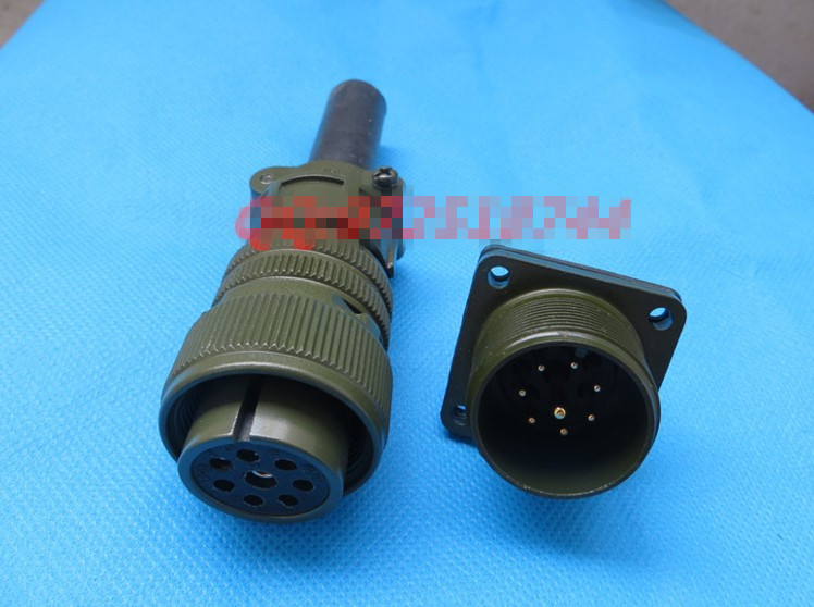 Original new 100% 5015 American Standard aviation plug straight MS3106A18-8S MS3102A18-8P 8 core waterproof connector original new 100% ms3106a 16s 8s 5 core straight 5015 u s standard motor aviation plug army standard waterproof connector
