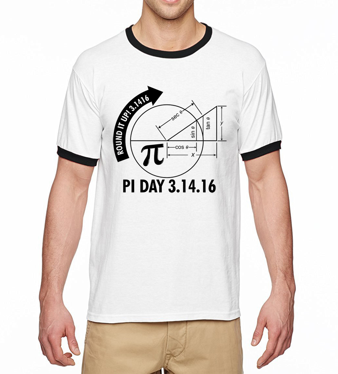 Pi Day 3 1416 Round It Up Math Graph font b Science b font Shirt 2017