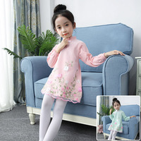 2017 Autumn Kids Toddlers Girls Dresses Polka Dot Bow Knot Long Sleeve Dress Girl Clothing Party