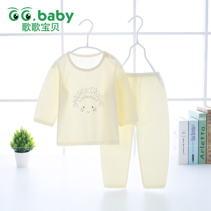 Newborn Set Baby Boy Summer Clothing Pajamas Suit Baby Girls Clothes Set Long Sleeve T-shirt Pants Sets For Boys Sleepwear Kids 2018 kids pajamas sets baby girl and boys clothes teenage girls pajamas suits long sleeve tops and pants 2 pieces clothing sets