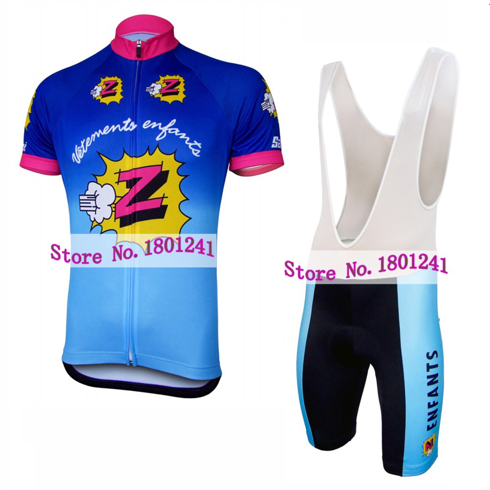 0334bb7d9 Detail Feedback Questions about MEN 2017 cycling jersey Z funny blue team bike  wear clothing riding racing maillot ropa ciclismo blue gel pad road nowgonow  ...