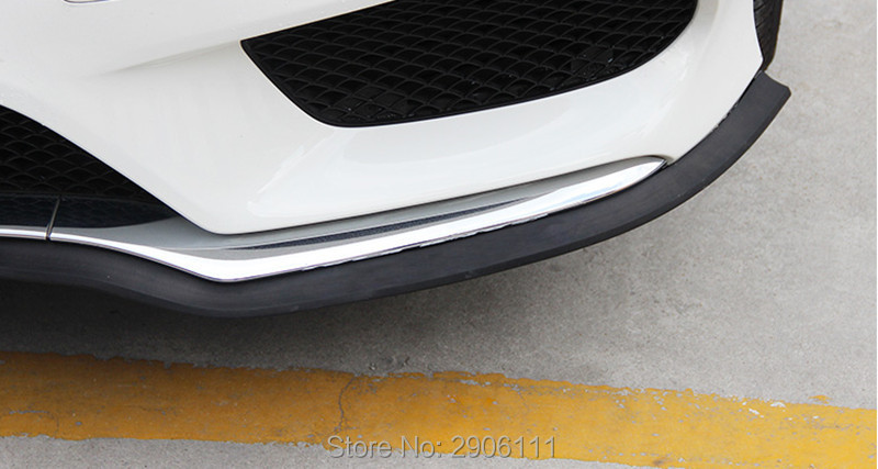 2.5M/8.2ft Universal Car Sticker Lip Skirt Protector for Buick regal excelle encore lacrosse rendezvous accessories car styling