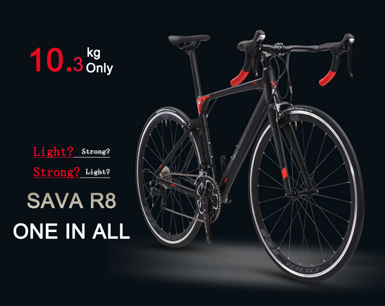 HTB1KMr0sIuYBuNkSmRyq6AA3pXa8 SAVA R8 Carbon Road Bike Taxes free Road Bike Carbon Bike with SHIMANO 18 speed Road bicycle Retro City bike complete Bici citta