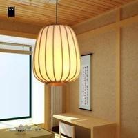 ПВХ бамбука Фонари абажур подвесной светильник Современный scandinave Китайский Японский Стиль татами подвесной светильник abat Jour Дизайн