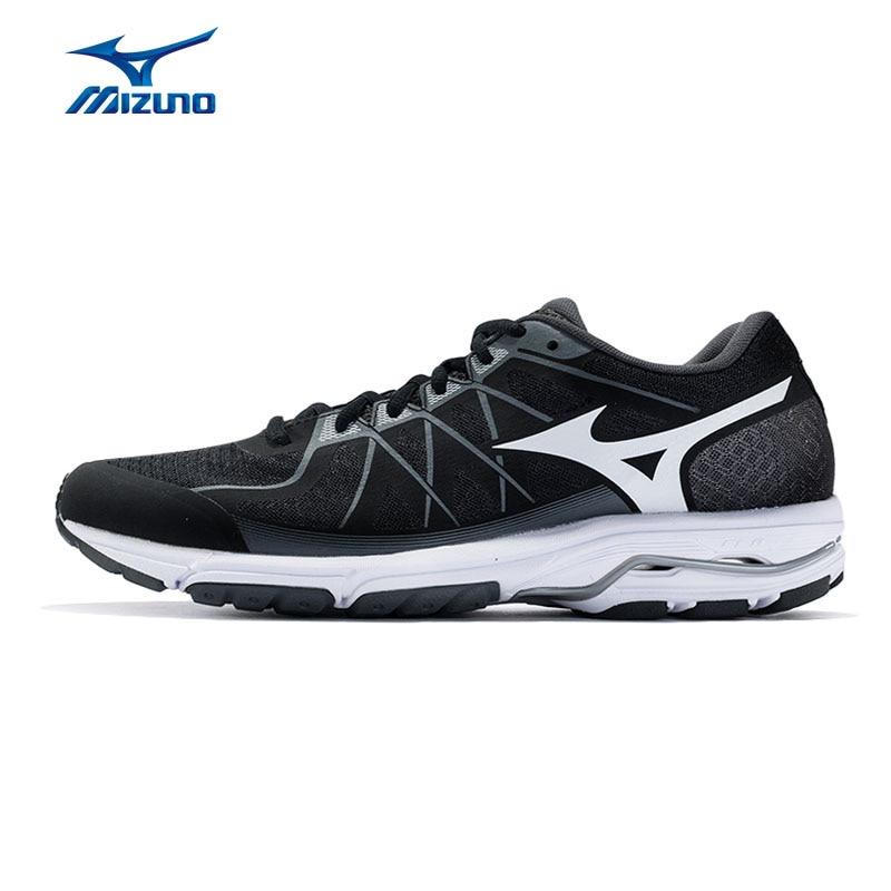 цена на MIZUNO Men UNITUS 4 Running Shoes Sports Profession Cushioning Shoes Breathable Sneakers J1GC182102 XYP620