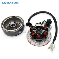 motorcycle Dirt Bike Parts High Performance Racing Magneto Stator Rotor coil for LF Lifan 140cc motorcycles accessories