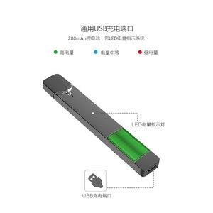 Image 3 - Prezent!!! Oryginalny OVNS W01 Pod Vape 280mAh zestaw 0.7ml LED wskazania mocy system Pod E papieros waporyzator zestaws postawy polityczne w minifit zestaw