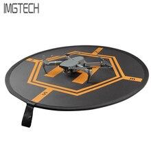 RC Zangão Quadcopter Fast-fold de Estacionamento Luminosa Avental Dobrável Landing Pad 80 CM Para Mavic Pro Fantasma DJI 3 4 Inspirar 1 2