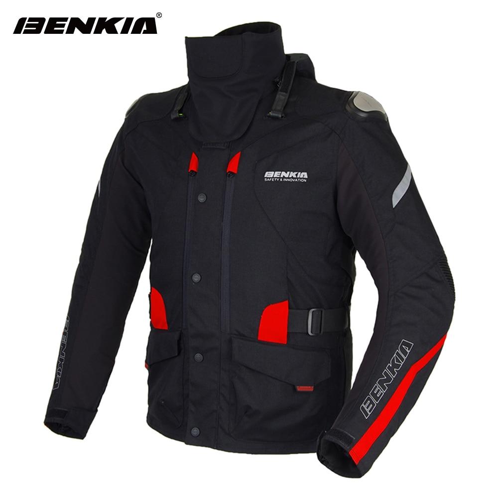BENKIA Winter Motorcycle font b Jacket b font Warm Lining Motorbike Racing font b Jacket b