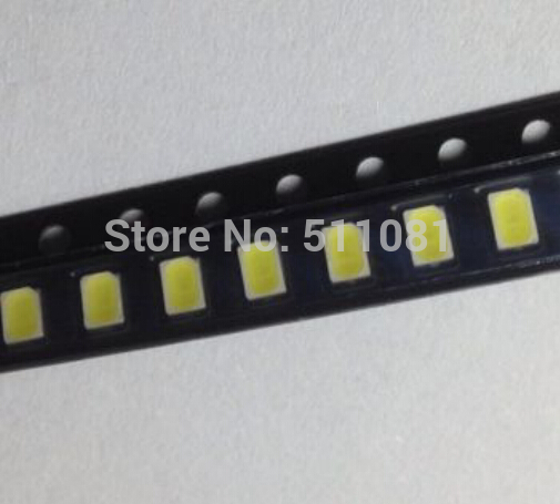 100pcs 3020 white light SMD light-emitting diode chip LED Lamp bead(China)