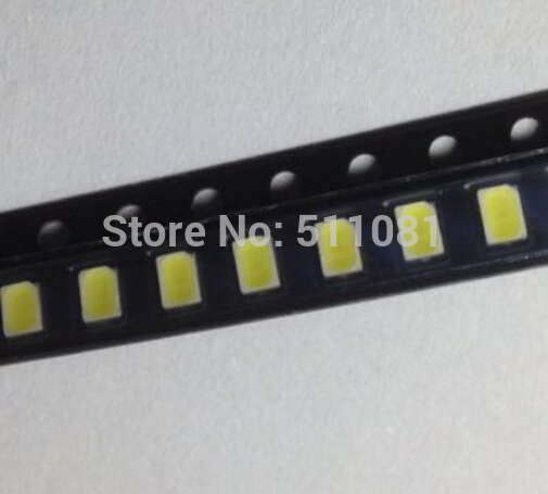 100pcs 3020 white light SMD light-emitting diode chip LED Lamp bead