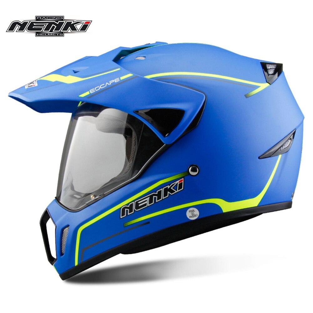 НЭНЬКИ двойной Спорт мотоцикл Мотокросс шлем capacete Cascos да мотоциклиста Мото шлем Каск грязь велосипед гоночный шлем