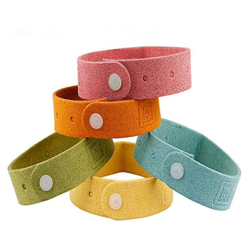 Safe Mosquito Repellent Bracelet Waterproof Spiral Wrist Band Insect Protection Outdoor Effective For Children Drop Shipping