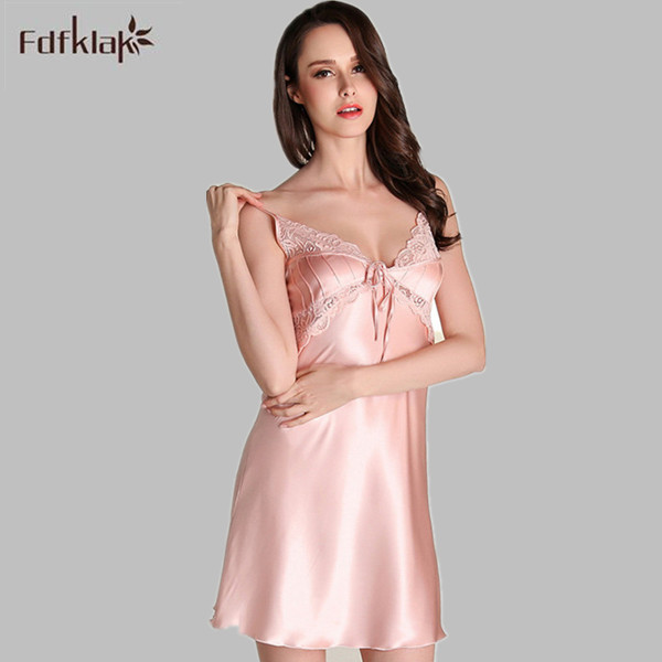 Sexy silk nightgowns for women