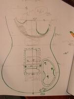Custom Made guitarra Elektro Gitar gövde Gitar Parçaları müzik aletleri özelleştirilebilir