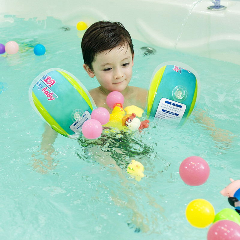 Baby Inflatable Arm Float Sleeves Tube Ring Swimming Circle Armlets Puddle Jumper Life Vest Swim Trainer For Children