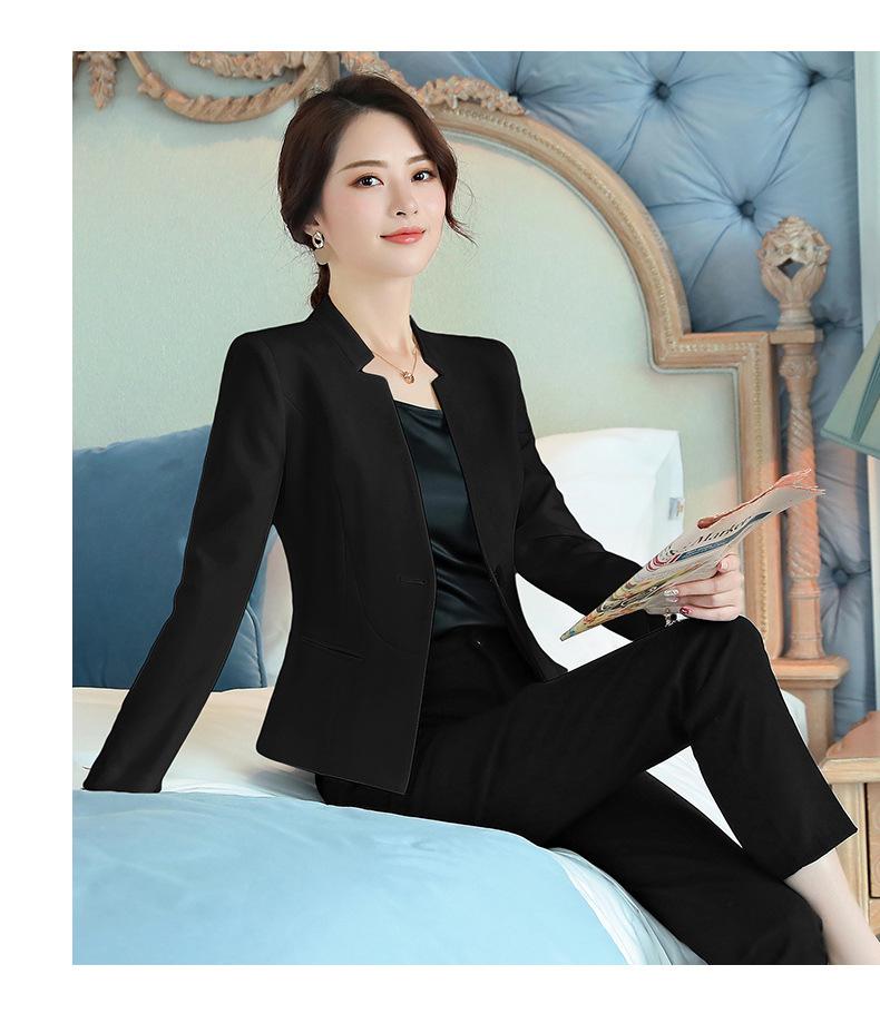 b0f79e9d0d 2019 Summer Women's Suit jacket Blazer Dress women blazers and jackets  Office lady Formal Elegant Ladies tops and blouses Coats