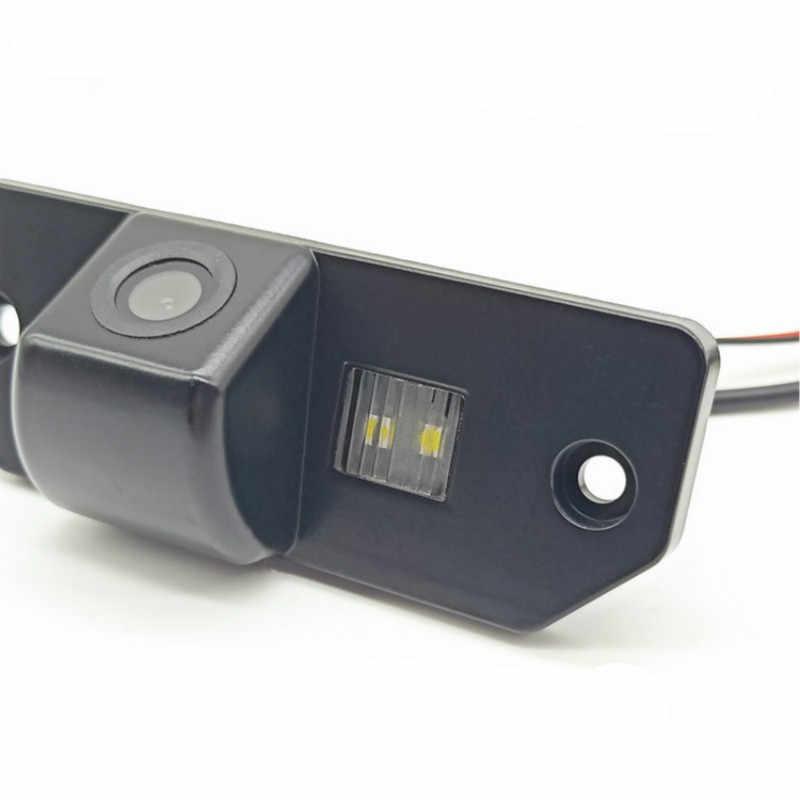Leemsp مقاوم للماء HD للرؤية الليلية سيارة كاميرا الرؤية الخلفية النسخ الاحتياطي عكس كاميرا لموقف السيارات لفورد فوكس 2 سيدان 2005-2011 C-Max