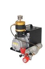 300BAR 4500PSI Регулируемый воздушный насос высокого давления портативный Электрический воздушный компрессор для пневматического ружья подводная винтовка PCP Надувное