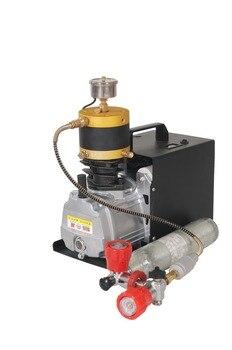 4500Psi kompresörü ayarlanabilir basınç yüksek basınçlı hava pompası elektrikli hava kompresörü için Airgun tüfek PCP şişirme