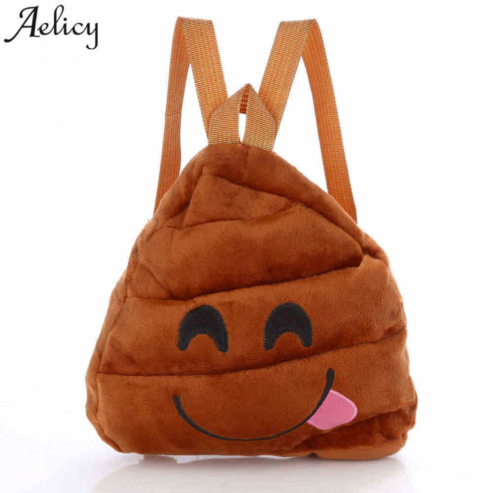 7ed30c8b649a Aelicy Children Backpacks Smiley Emoji Face Printing Children School Bags  Girls Baby Cartoon Cute Mini Backpacks