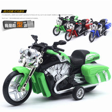 1:18 New High Simulation Alloy Diecast Harley Road King Special Motorcycle Diecast Metal Bike Toy Model Gifts New With BOX(China)